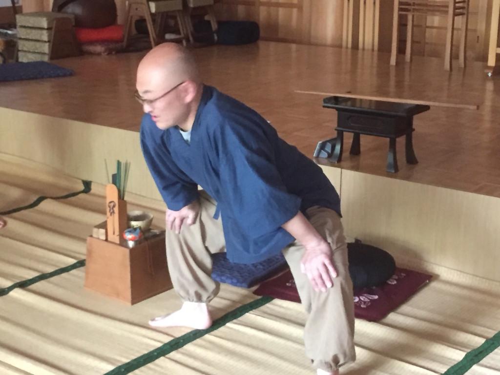 和尚さんの準備体操